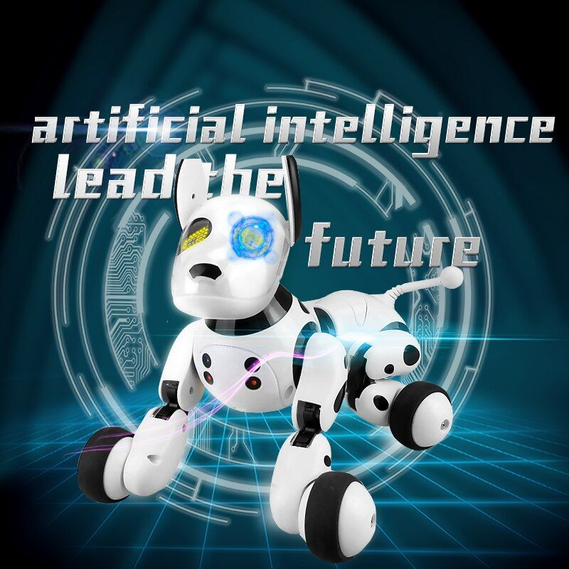 2.4G Wireless Remote Control Smart Dog Electronic Pet Educational Children's Toy Dancing Robot Dog without box birthday gift