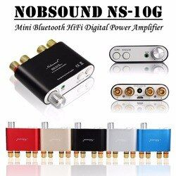 2017 Lastest Nobsound NS-10G TPA3116 Bluetooth 4.0 Mini Digital Amplifier Stereo HiFi Power Amp 50W*2 FREE SHIPPING