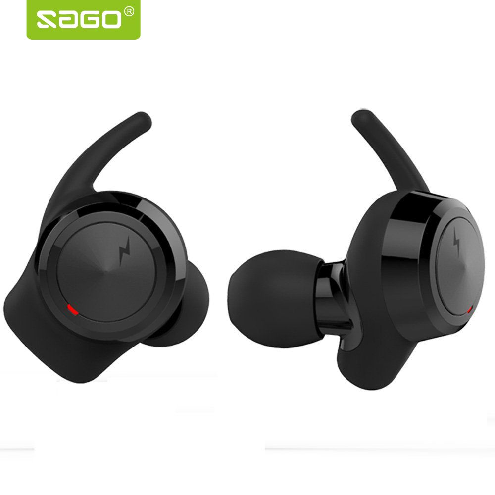 SAGO US-001 Wireless Bluetooth Earbuds mini headphone Sport Headset In-Ear Earphone for iphone 8/sumsung/android phones