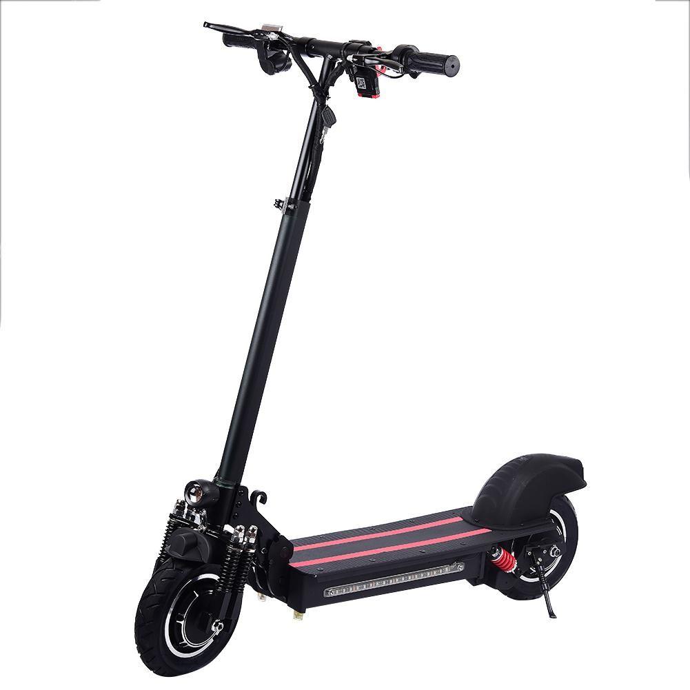 10 zoll Doppel-stick Haushalt Elektrische Roller 2019 Hydraulische Federung Faltbare Elektrische Scootor Mit Turbine Motor 1200W