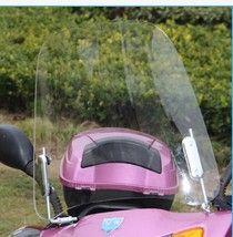 Motorcycle Windshield Wind Deflectors Scratch resistant PC 2.2mm electric scooter e bike Windscreen roller windschild deflektor