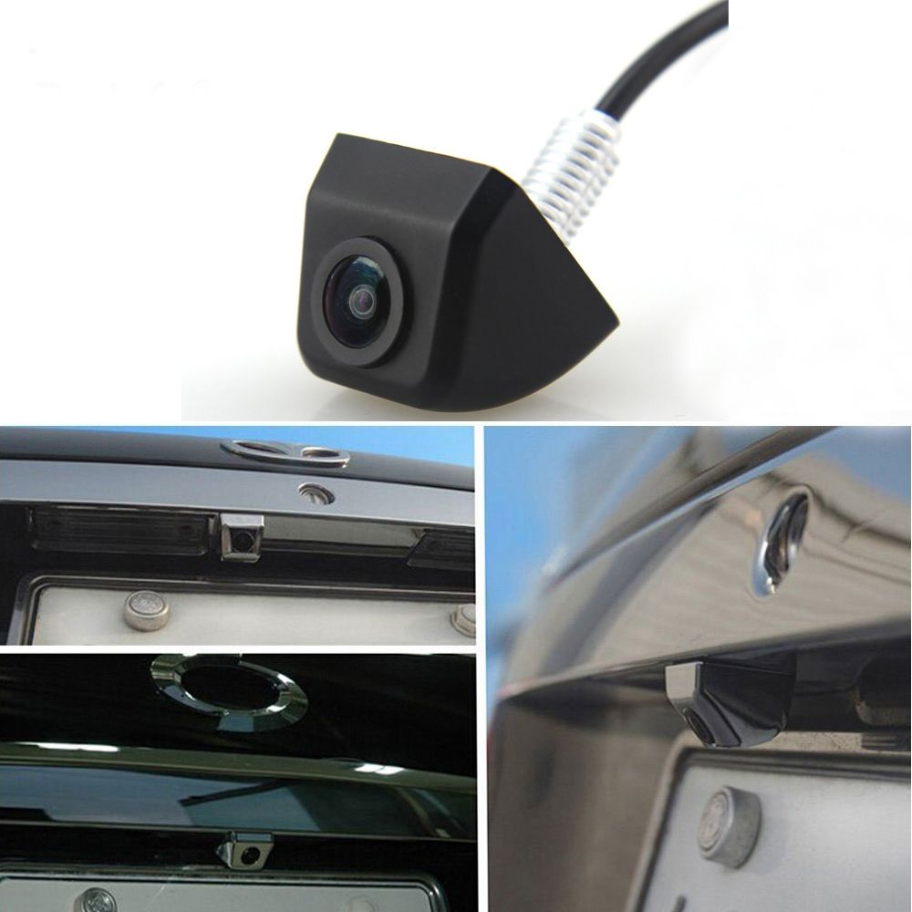 AMPirme caméra de recul voiture caméra de recul moniteur de parc CCD HD Mini caméra de recul aide au stationnement en marche arrière