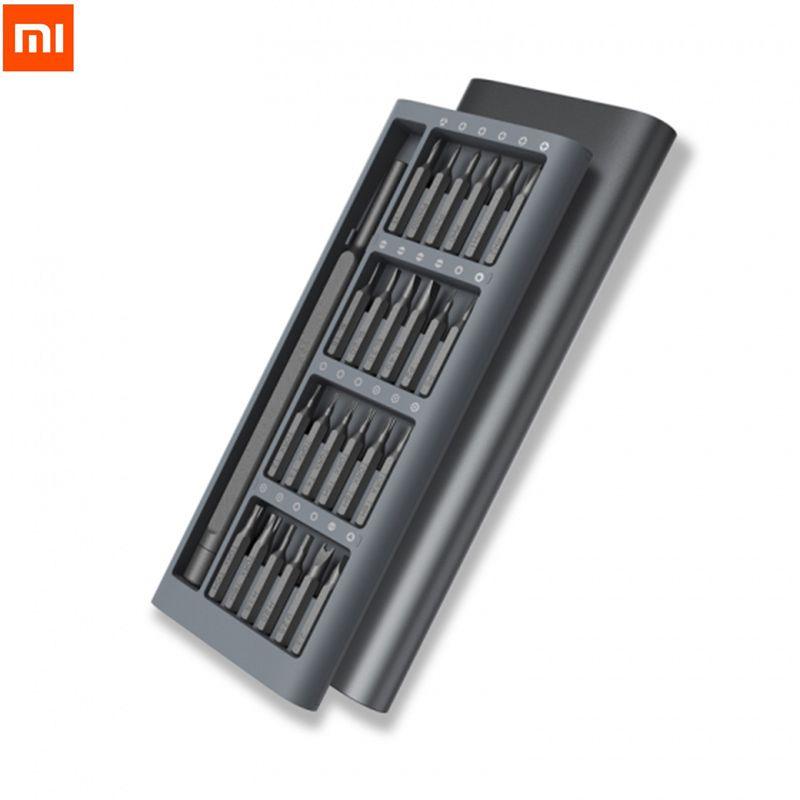 Оригинальный Xiaomi wiha ежедневно Применение Отвёртки Комплект 24 точность магнитные биты аллюминевых окно DIY отверток для умного дома