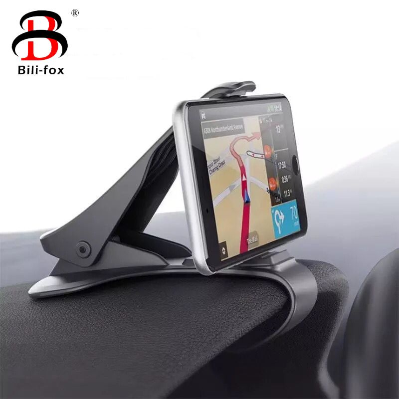 Phone Car Holder for iPhone Samsung Mobile Phone Universal Dashboard Mount Clip Air Outlet 360 Degree Rotating Car-styling Stand