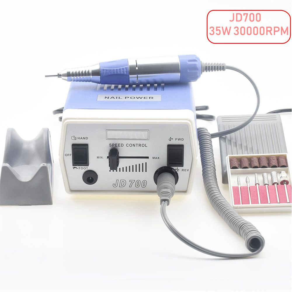 35W 30000RPM Electric Nail Drill Machine Manicure Pedicure Files Tools Kit Nail Polisher Grinding Glazing Machine For Gel Polish