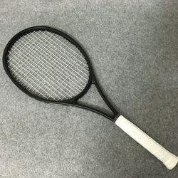 NEW bea 100% serat karbon raket tenis raket tenis kualitas Taiwan OEM 315g Federer hitam raket