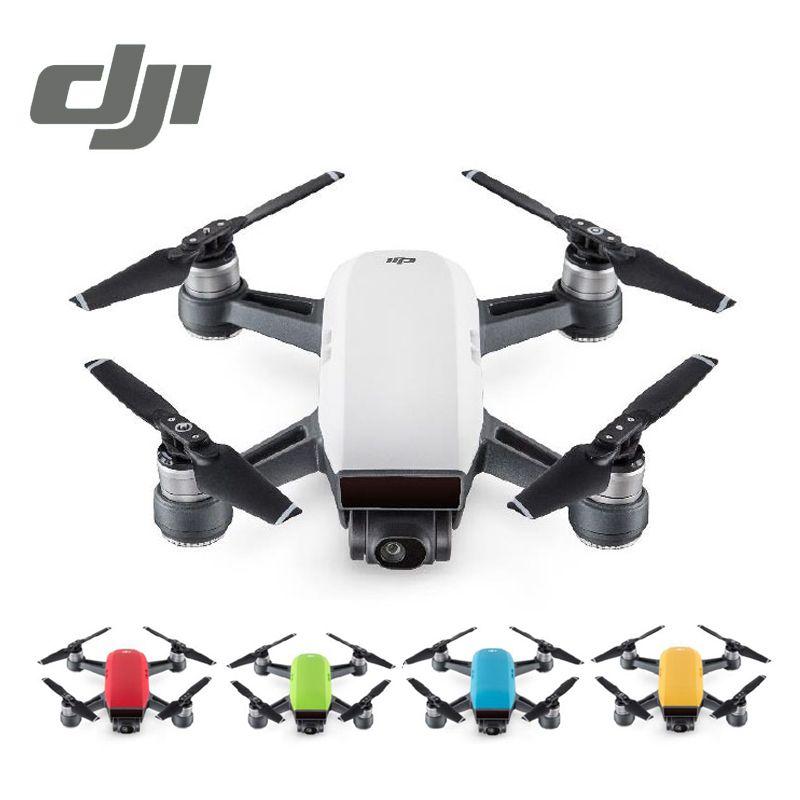 DJI Spark Drone White Yellow Blue Red 1080P HD Camera Drones Quadrotor RC FPV Quadcopter Sparks Original