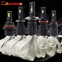 Cawanerl 2 шт. 60 Вт H1 H3 H4 H7 H8 H9 H11 9005 HB3 H10 9006 HB4 автомобиля светодио дный лампа 6400LM 6500 К Белый 12 В авто фар противотуманных фар