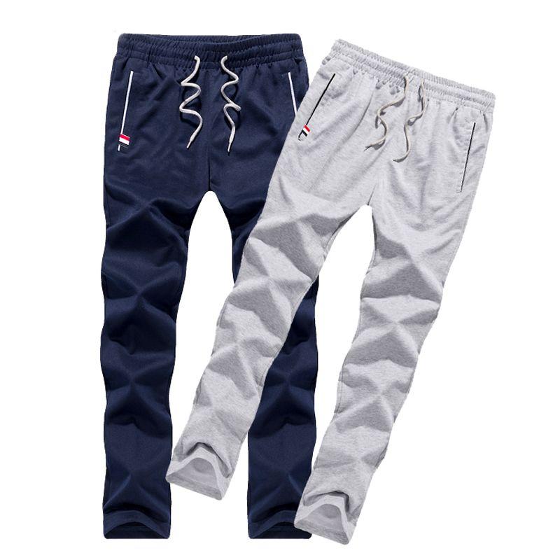 Для мужчин Штаны тонкий подростковые брюки для мальчиков 2018 новые весенние мужские случайные прямые здоровья дешевые Штаны студент Больши...