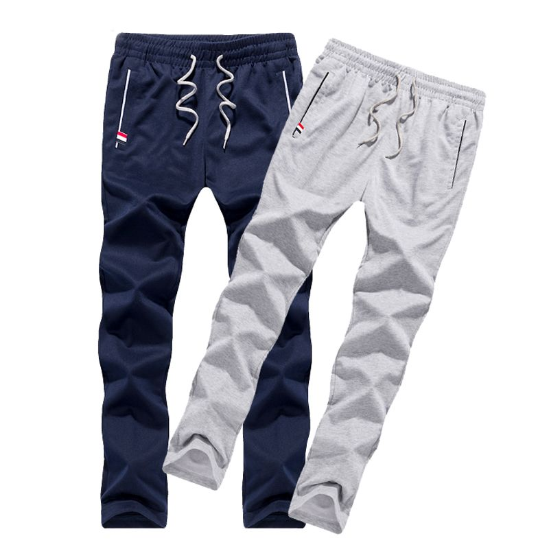 Men pants thin teenage boy trousers 2018 new spring male casual straight health <font><b>cheap</b></font> pants student plus size 4XL 5XL 6XL