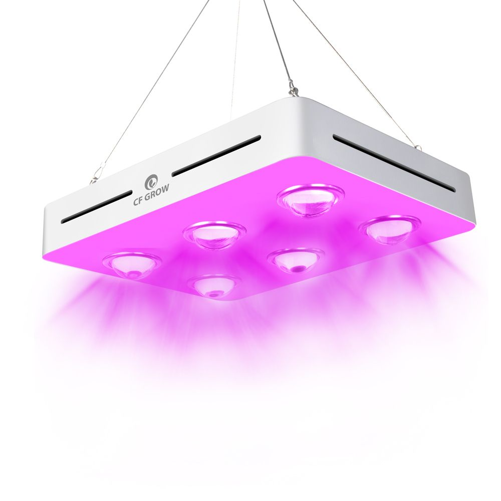 300W 600W 900W COB LED Grow Light Full Spectrum for Indoor Hydroponic Greenhouse Plant All Stage Growth Replace UFO Growing Lamp