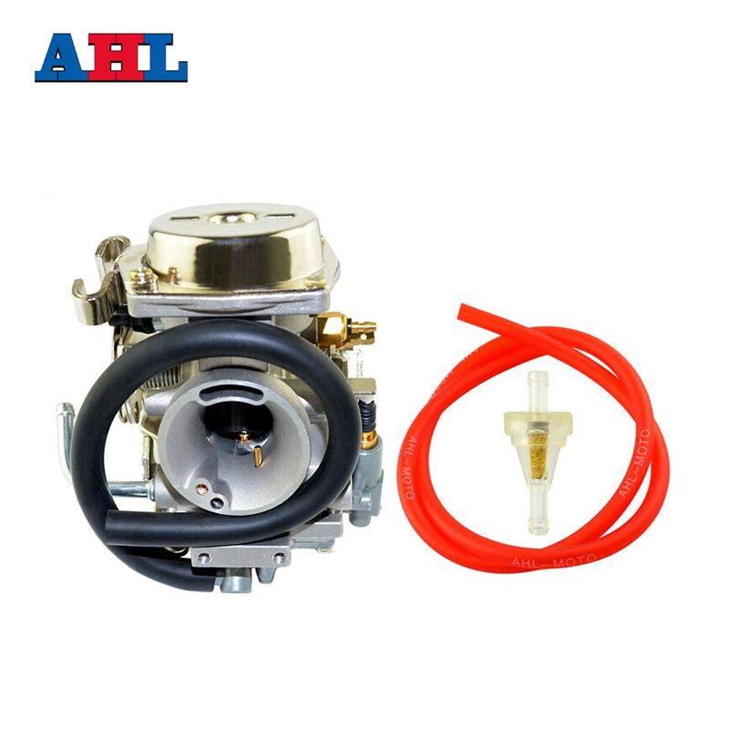 New Motorcycle Parts Carburetor & Red Oil Tube & Gasoline Filter Kit For YAMAHA XV250 Vstar 250 Virago 250 Route66 1988-2014