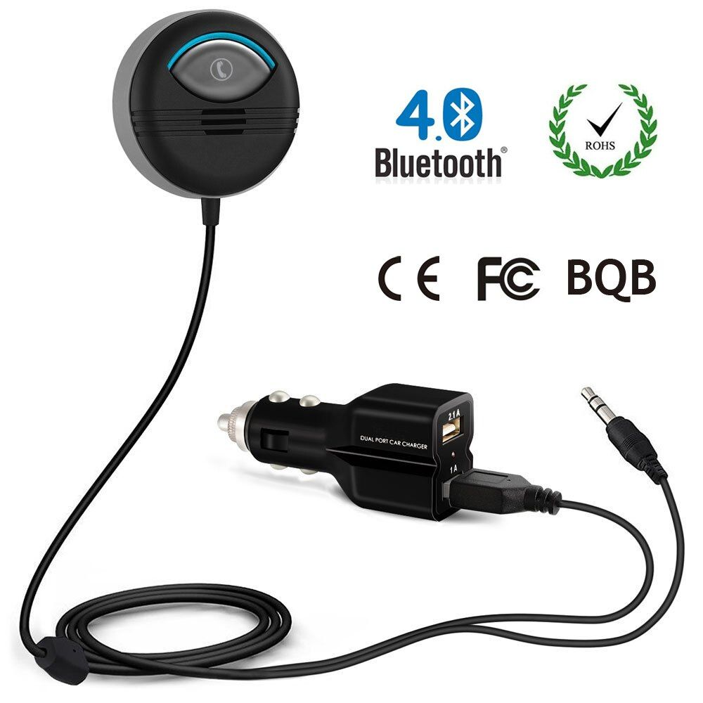 Bluetooth Car Kit built-in Isolator for Noise Cancelling with FCC CE ROHS BQB