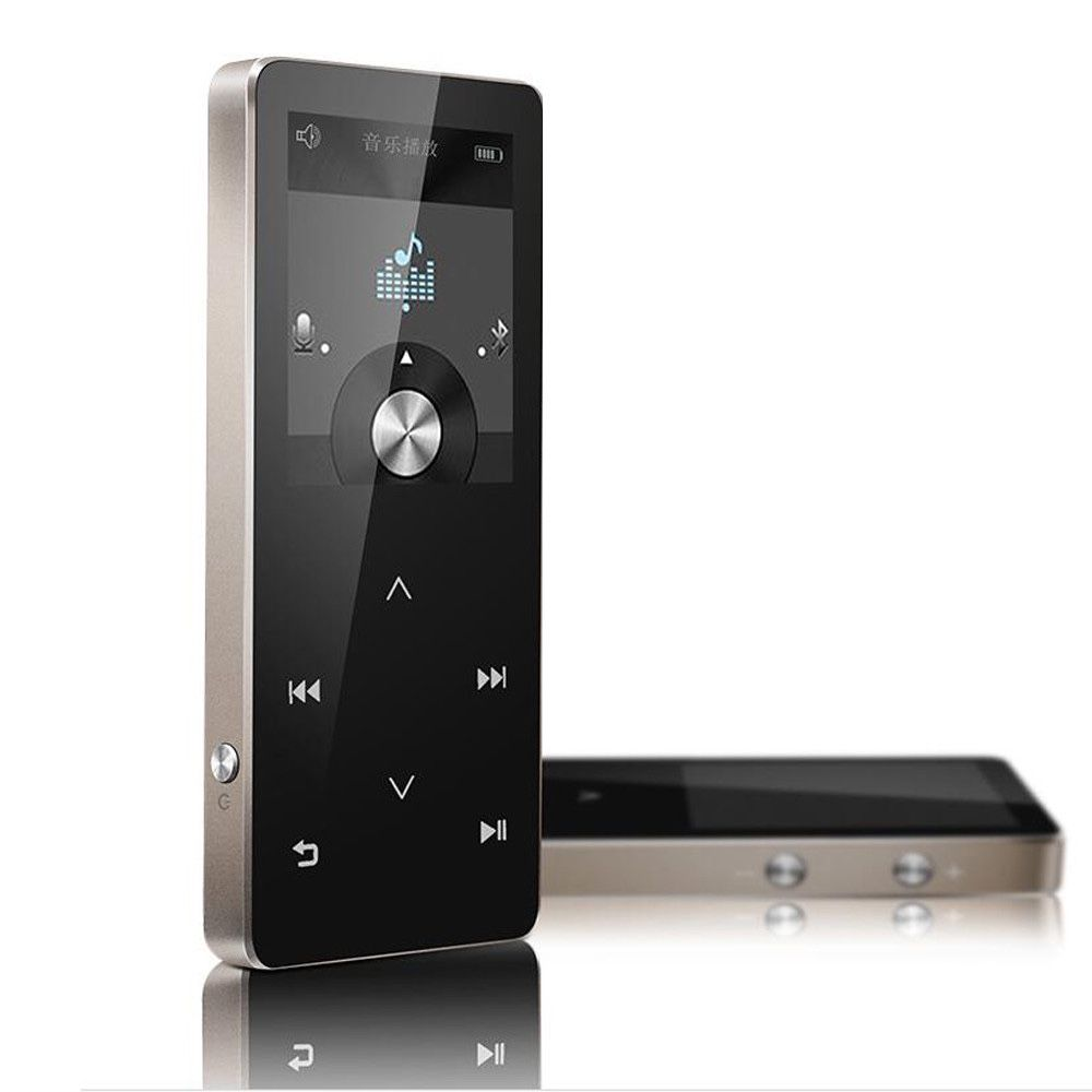 AUPHIL Sports MP3 Player Bluetooth 4.0 Touch Screen Lossless Music Player with FM Radio Recorder eBook 100hours play