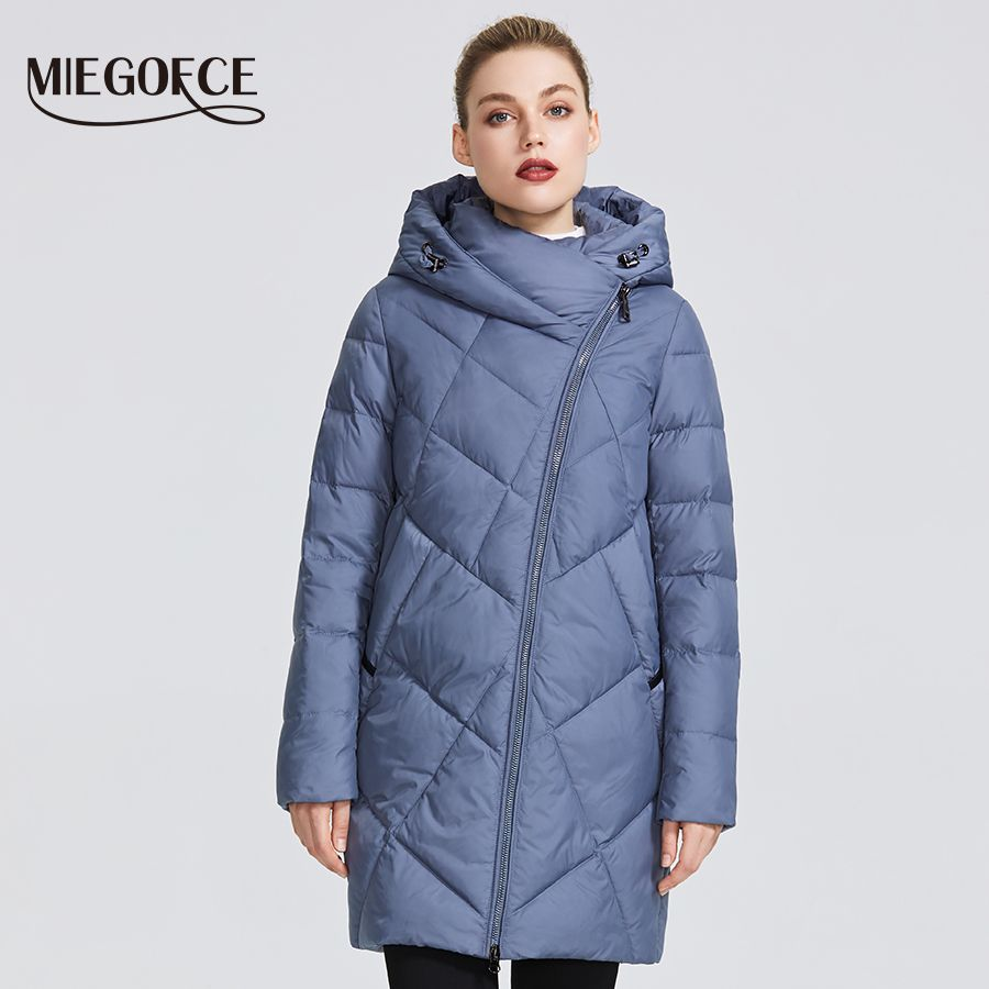 MIEGOFCE 2019 Winter frauen Sammlung frauen Warme Jacke Mantel Mehrere Ungewöhnliche Farben Kurve Zipper Gibt Modell eine Spezielle stil