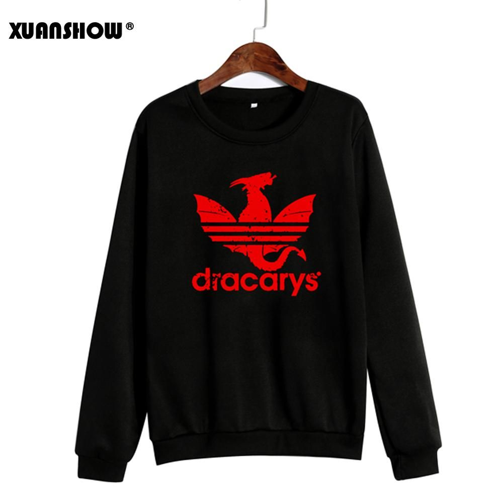 XUANSHOW Spring Autumn Winter Unisex Clothes Fleece Long Sleeve Man Woman Pullover Moletom Sudadera Mujer S-5XL