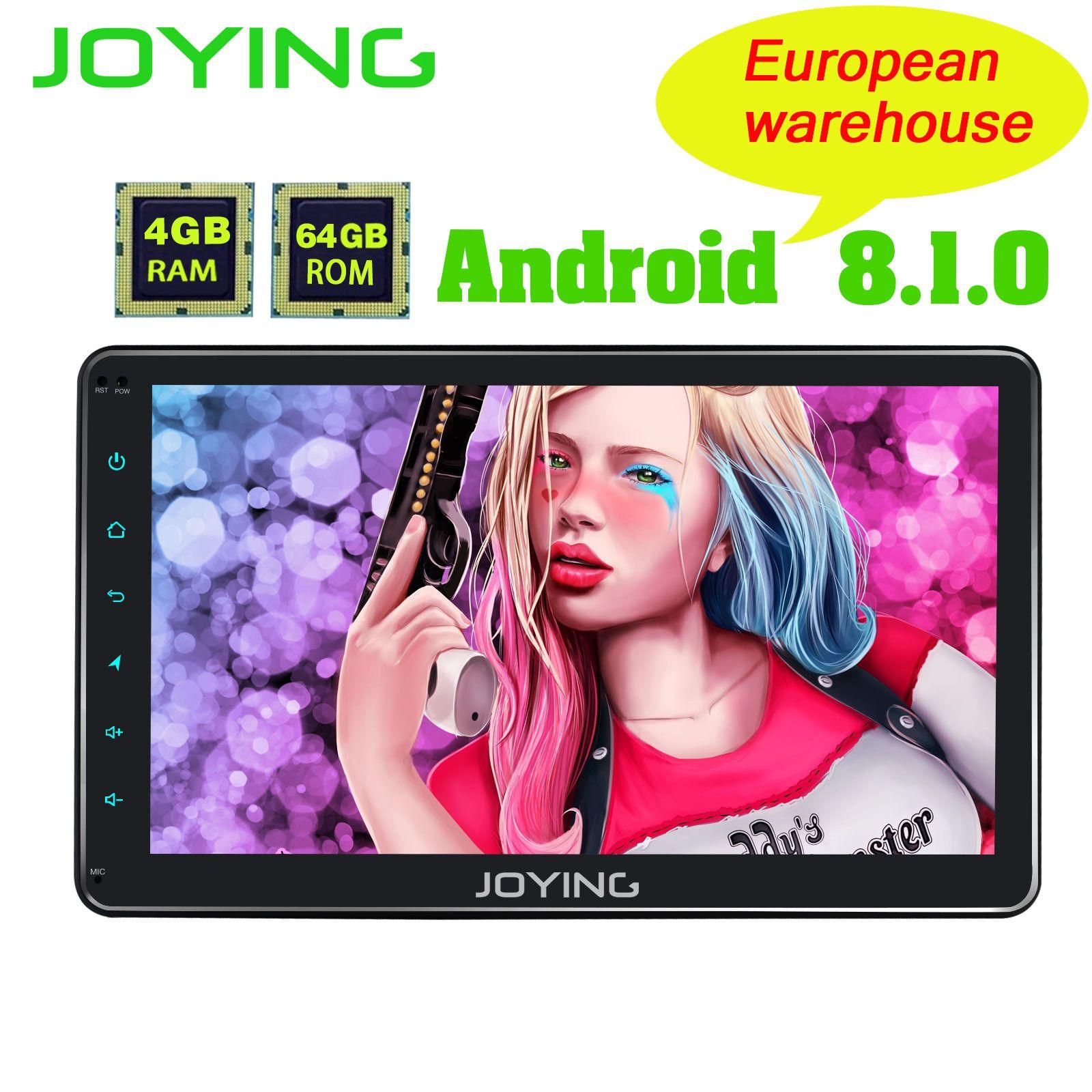 EU Lager 1DIN Android Autoradio 10,1