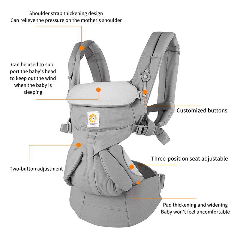 Egobaby omni 360 porte-bébé multifonction respirant porte-bébé sac à dos enfant chariot enfant en bas âge bébé écharpe Wrap bretelles