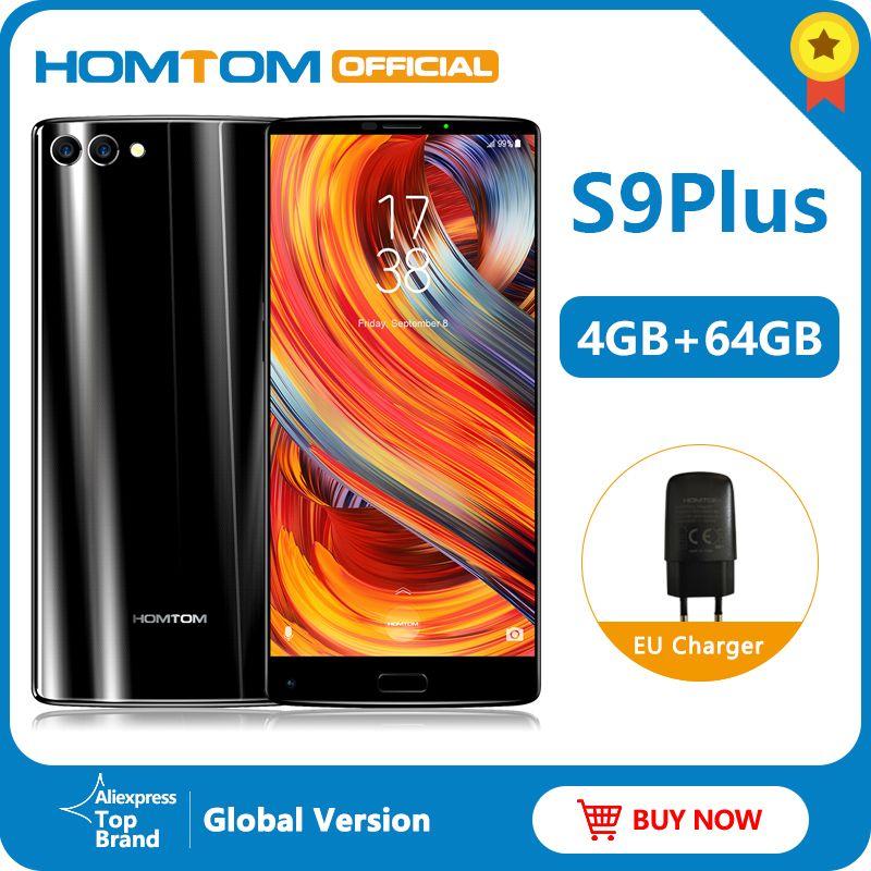 Globale version HOMTOM S9 Plus 18:9 HD + 5,99