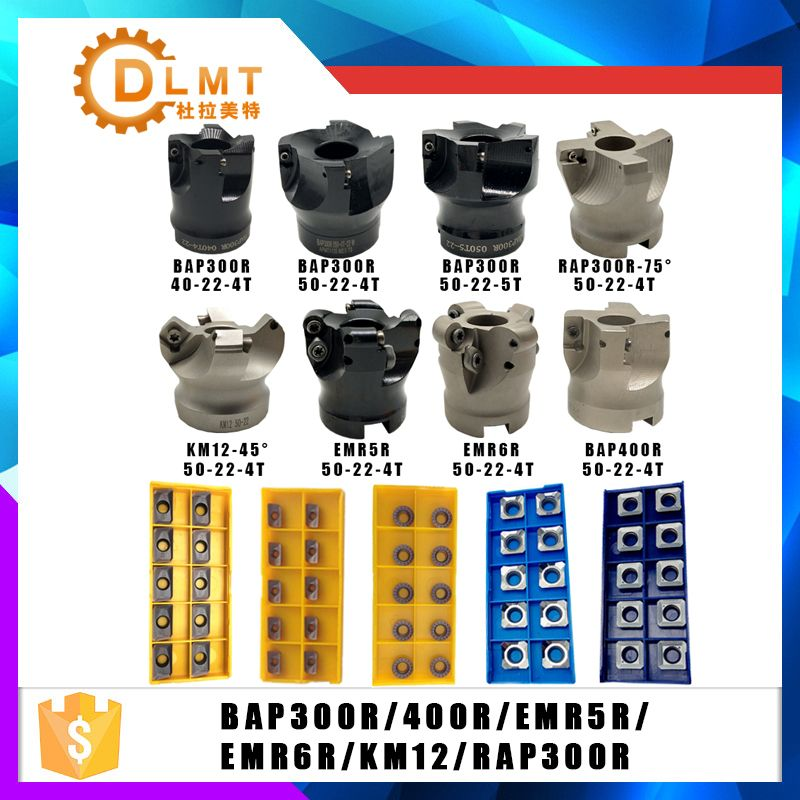 BAP400R BAP300R EMR5R EMRW6R KM12 RAP300R 40 50 22 4T 5T 6T APMT1135 1604 SEKT1204 support De Fraisage Pour fraise Machine