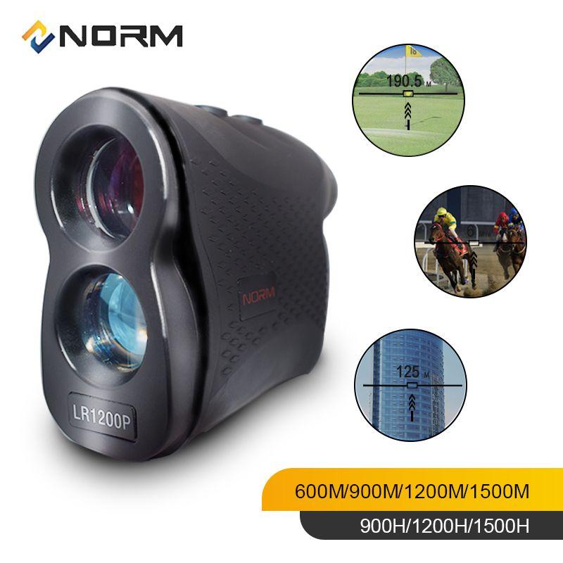 NORME Télémètre Laser 600M 900M 1200M 1500M Télémètre Laser de Golf Sport Chasse Enquête