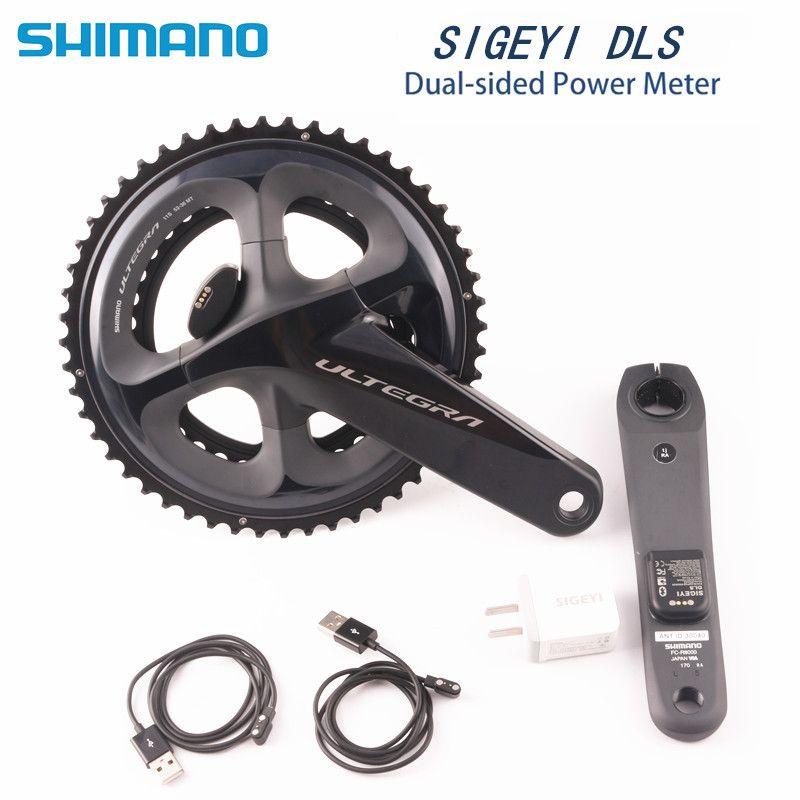 SHIMANO ULTEGRA R8000 rennrad fahrrad Kurbel mit SIGEYI DLS METER Kurbel 170mm 172,5mm Kurbel Update AX- POWER