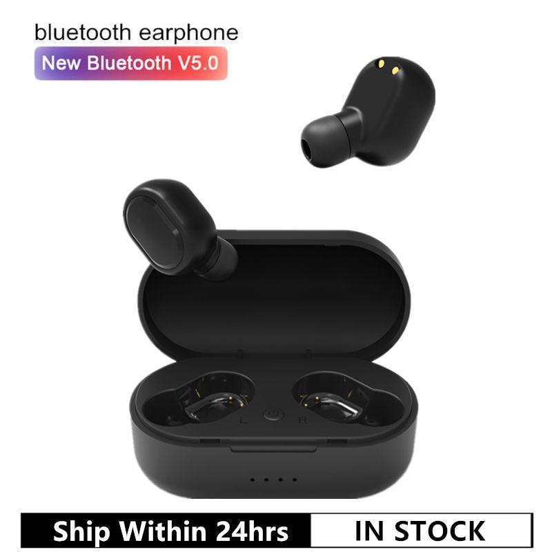 Écouteurs sans fil M1 Bluetooth VS Redmi Airdots écouteurs sans fil 5.0 TWS écouteurs suppression de bruit micro pour iPhone Xiaomi Huawei Samsung