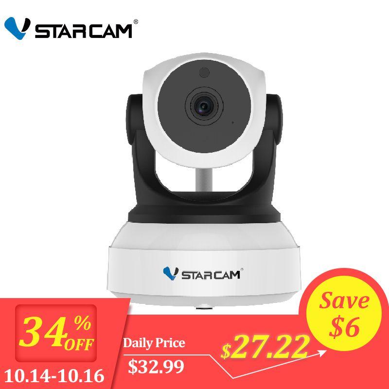 Caméra IP d'origine Vstarcam 720P C7824WIP Wifi Surveillance caméra de vidéosurveillance caméra de sécurité IR Vision nocturne caméra PTZ vue Mobile