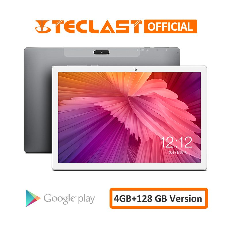 10,1 inch Tabletten Teclast M30 4G Phablet 2560x1600 Android 8.0 4GB RAM 128GB ROM MT6797 X27 deca Core 7500mAh GPS Dual Wifi