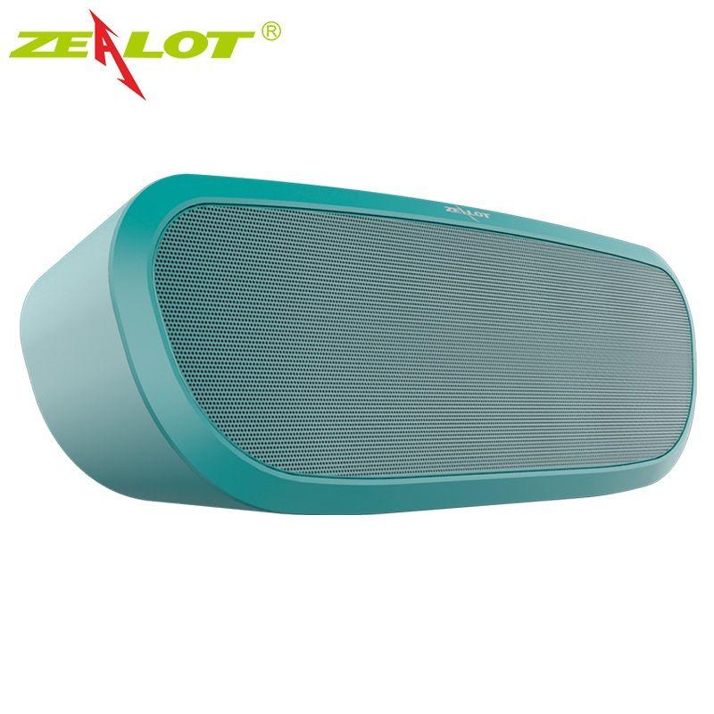 Zélot S9 Portable sans fil Bluetooth haut-parleur Mini haut-parleurs extérieurs partie petite boîte à musique Support Micro carte SD AUX USB stylo Driv