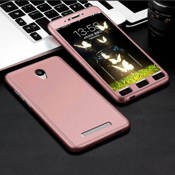 Aokin 360 Degree Full Protective Case For Xiaomi Redmi Note 2 Luxury Ultra Thin Back Cover For Redmi Note2 5.5