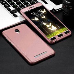 Aokin 360 Derajat Penuh Pelindung Case untuk Xiaomi Redmi Note 2 Mewah Ultra Tipis Penutup Belakang untuk Redmi Note2 5.5