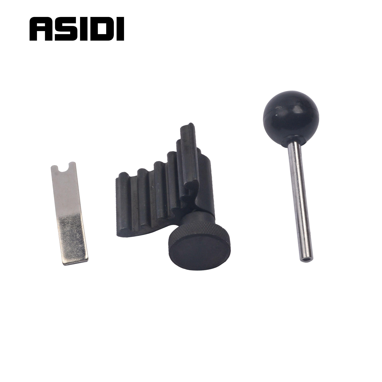 3 pièces ensemble d'outils de verrouillage de tendeur d'arbre à cames de courroie de distribution de moteur Diesel Tdi pour VW/Audi A2/A3/A6