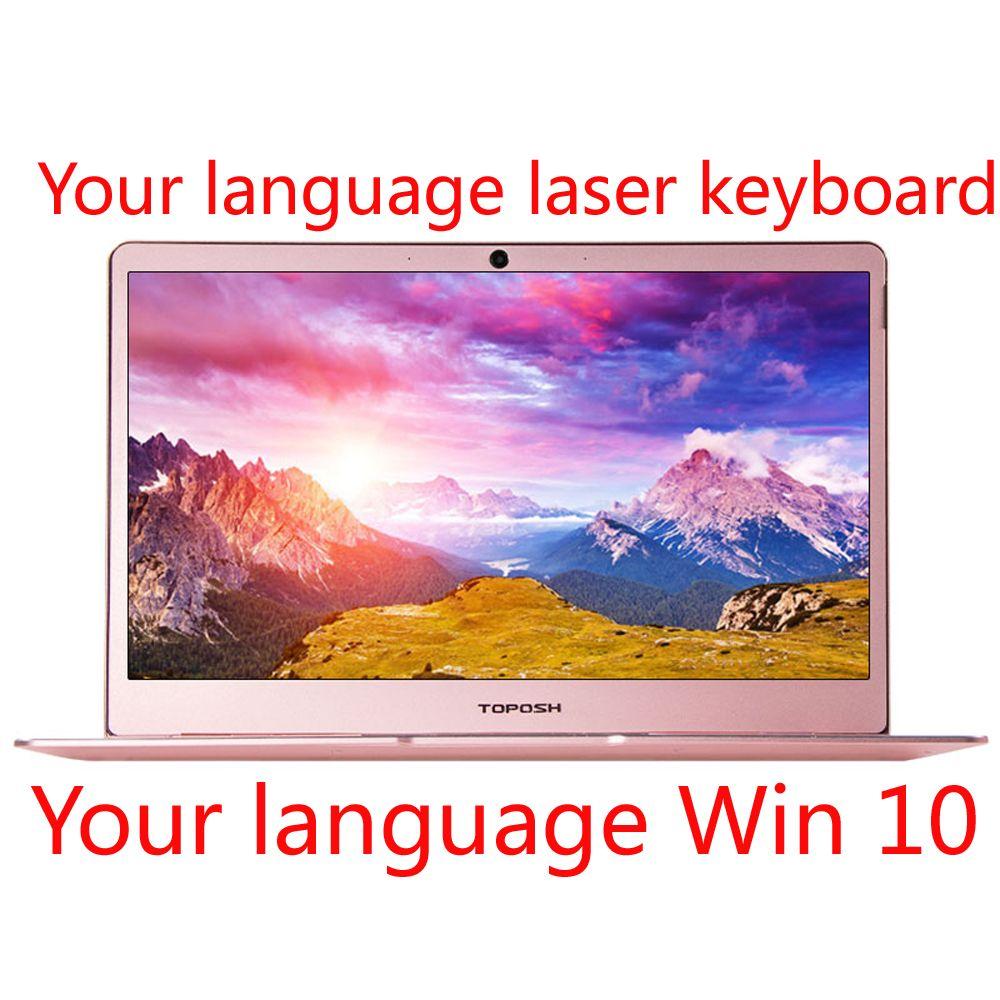 J3355/J3455/J4105 14 laptop 8G DDR4 RAM 1TB SSD metall shell laser gravur ihre sprache Beleuchtete tastatur