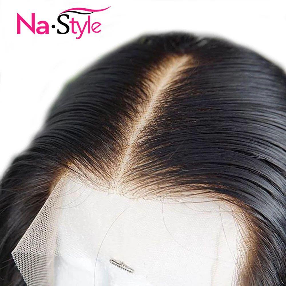 Perruques en dentelle transparente HD perruques de cheveux humains courts Bob 13x6 perruque avant en dentelle indétectable perruques de cheveux humains avant pour les femmes noires