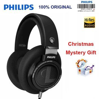 Philips original shp9500 headphones support huawei xiaomi MP3, with 3 meters long 3.5mm wire noise-canceling headphones