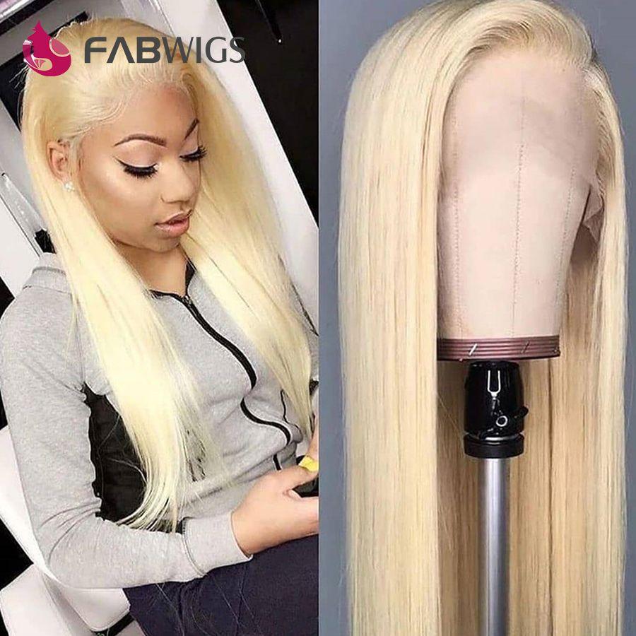Fabwigs 150% Dichte 613 Volle Spitze Perücke Pre Gezupft Volle Spitze Menschliches Haar Perücken mit Baby Haar Remy Spitze Perücken für Schwarze Frauen
