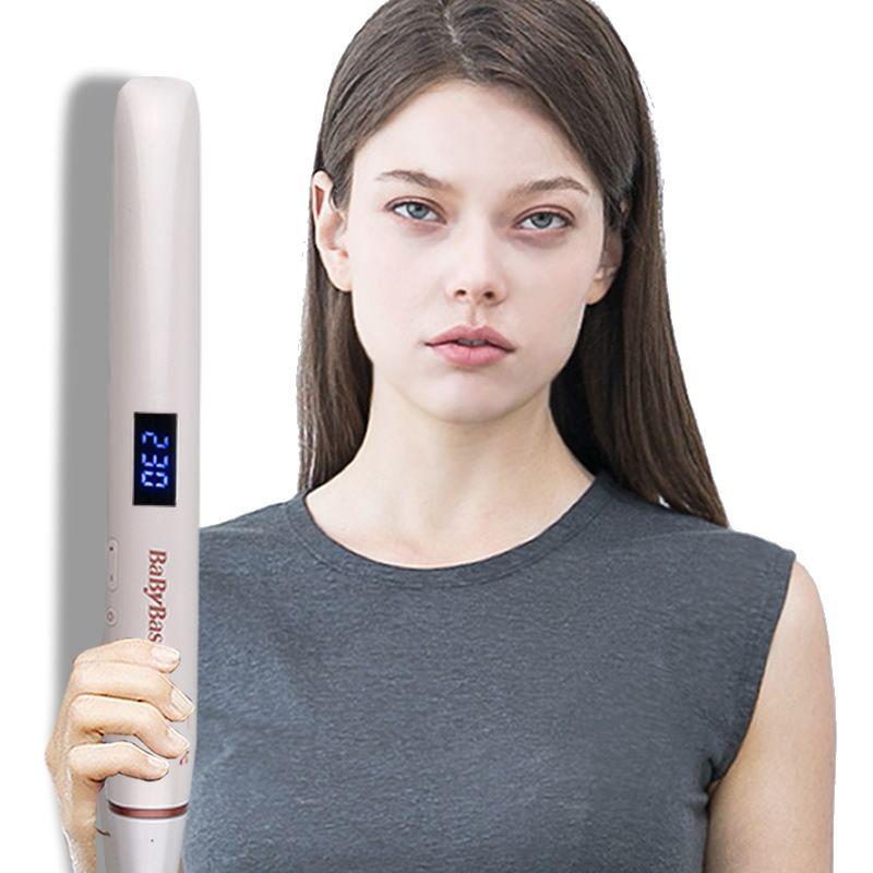 Fer à lisser professionnel bigoudi fer plat Ion négatif baguette infrarouge redressant fer à friser ionique ondulation pince à sertir