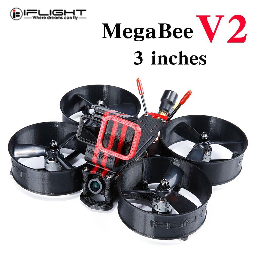 IFlight MegaBee V2 Rahmen SucceX F4 Flight Controller 35A 4-IN-1 ESC XING 1408 3600KV Bürstenlosen Motor forDrone
