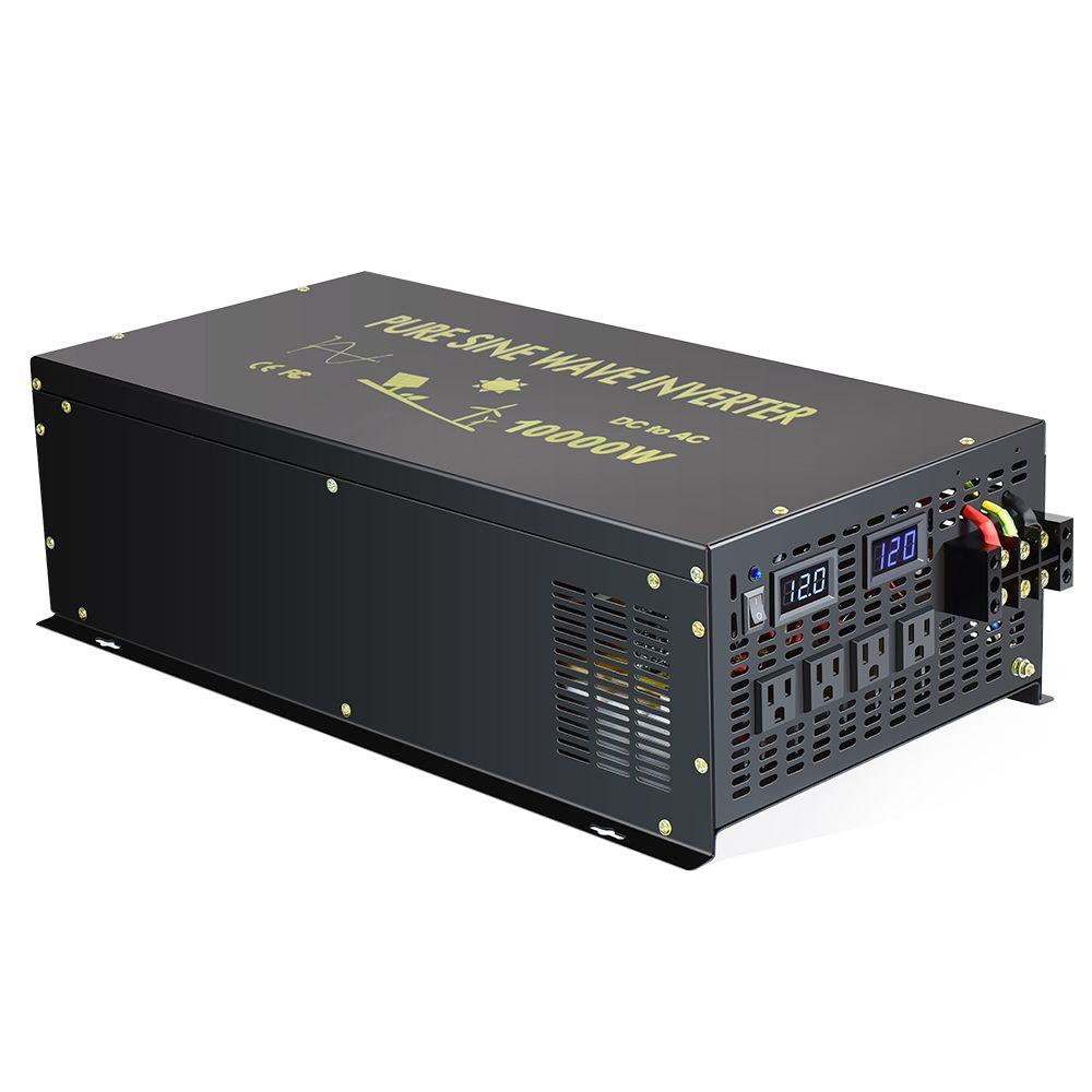 10000W Off Grid Reine Sinus Welle Inverter Power Inverter 24V zu 220V Solar Inverter 12 V/ 24 V/48 V DC zu 120 V/220 V/240 V AC Converter