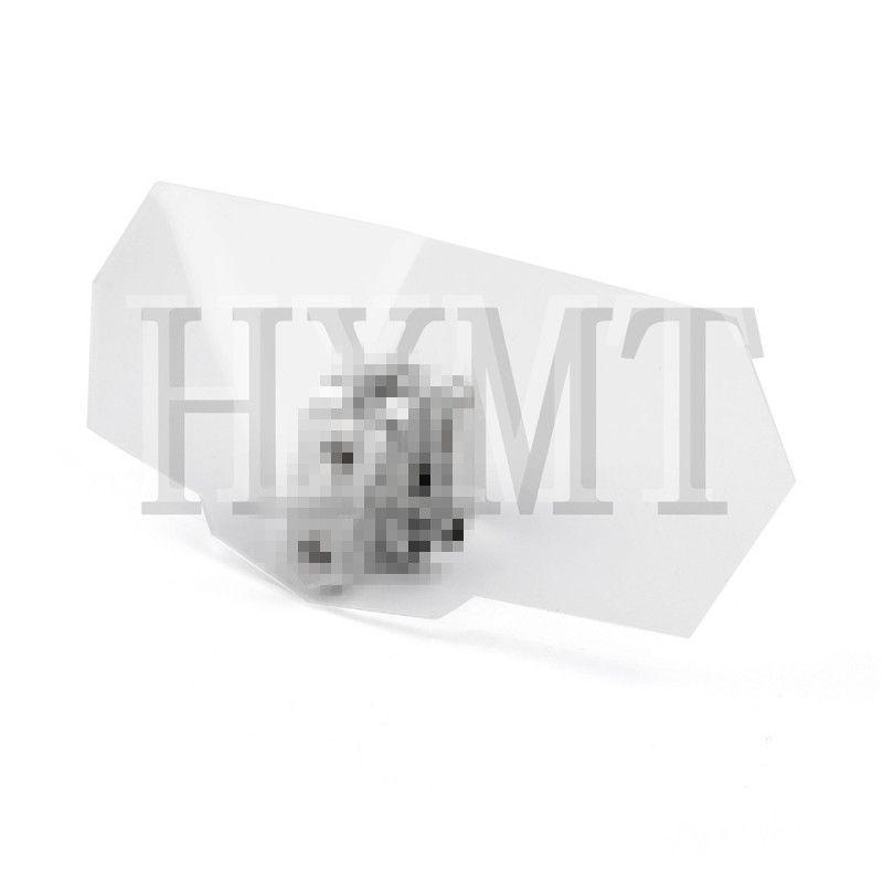 Universal Adjustable Windshield Screen Extension Deflector For Honda For Yamaha KTM BMW Ducati Moto Spoiler Wind Deflector
