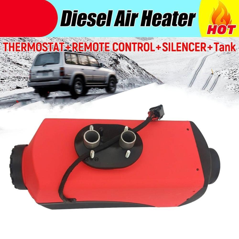 12V 2Kw/3Kw Luft Heizung Diesel Heizung Standheizung Air Heizung Auto Lkw Boot Universal Diesel Luft Heizung