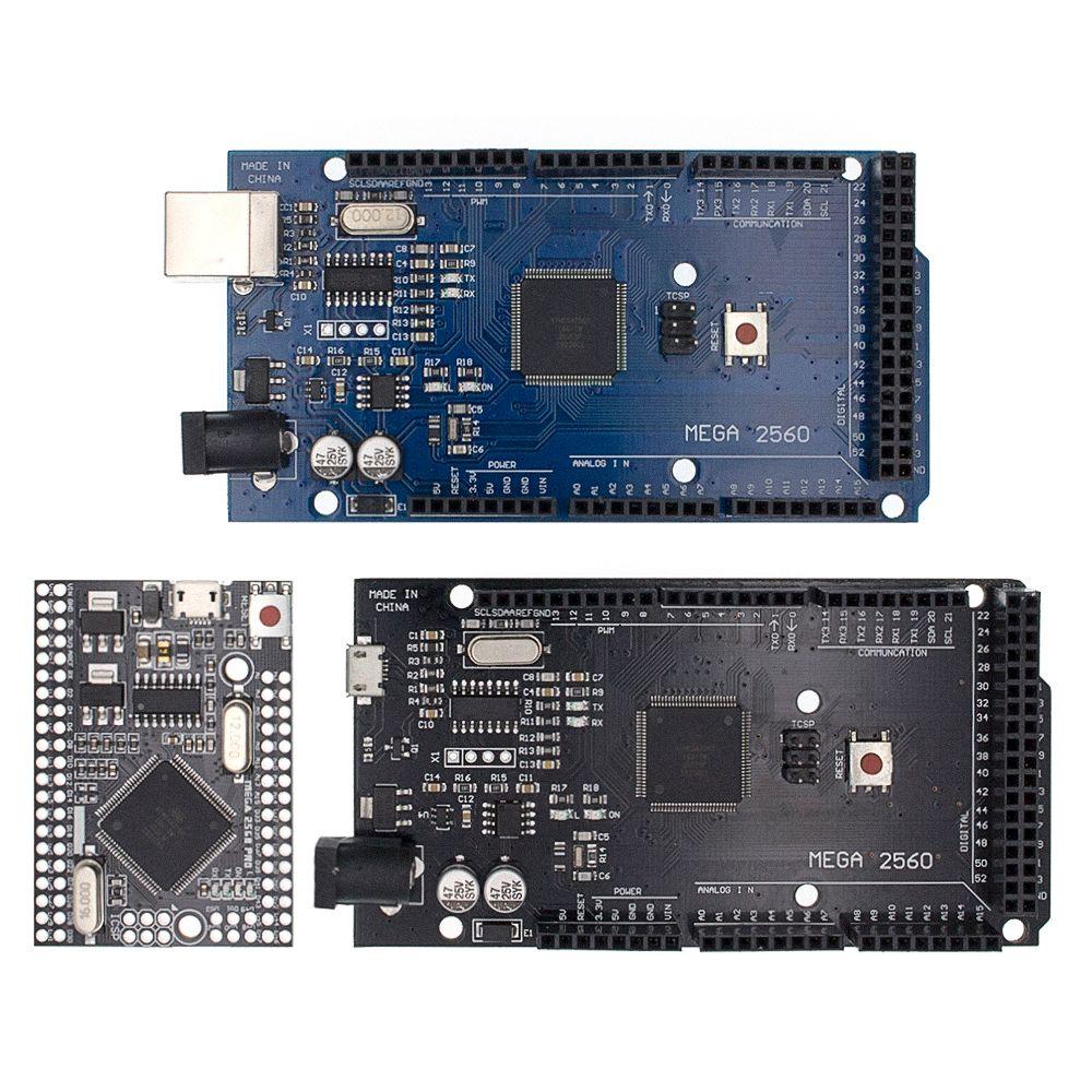 MEGA2560 MEGA 2560 R3 (ATmega2560-16AU CH340G) carte de développement de carte USB AVR MEGA2560 pour arduino