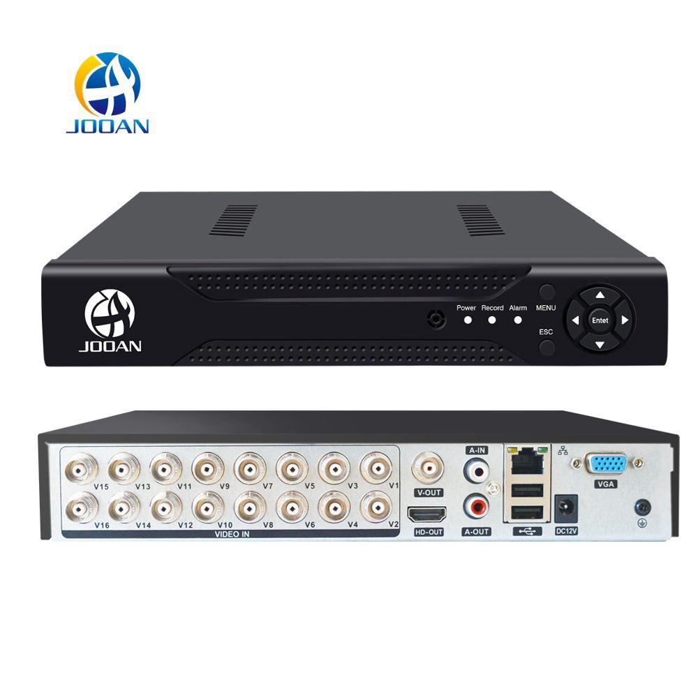 JOOAN 4CH 8CH 16CH CCTV DVR système de sécurité 1080N H.264 hd-sortie P2P hybride 5 en 1 Onvif caméra IP TVI CVI AHD enregistreur vidéo