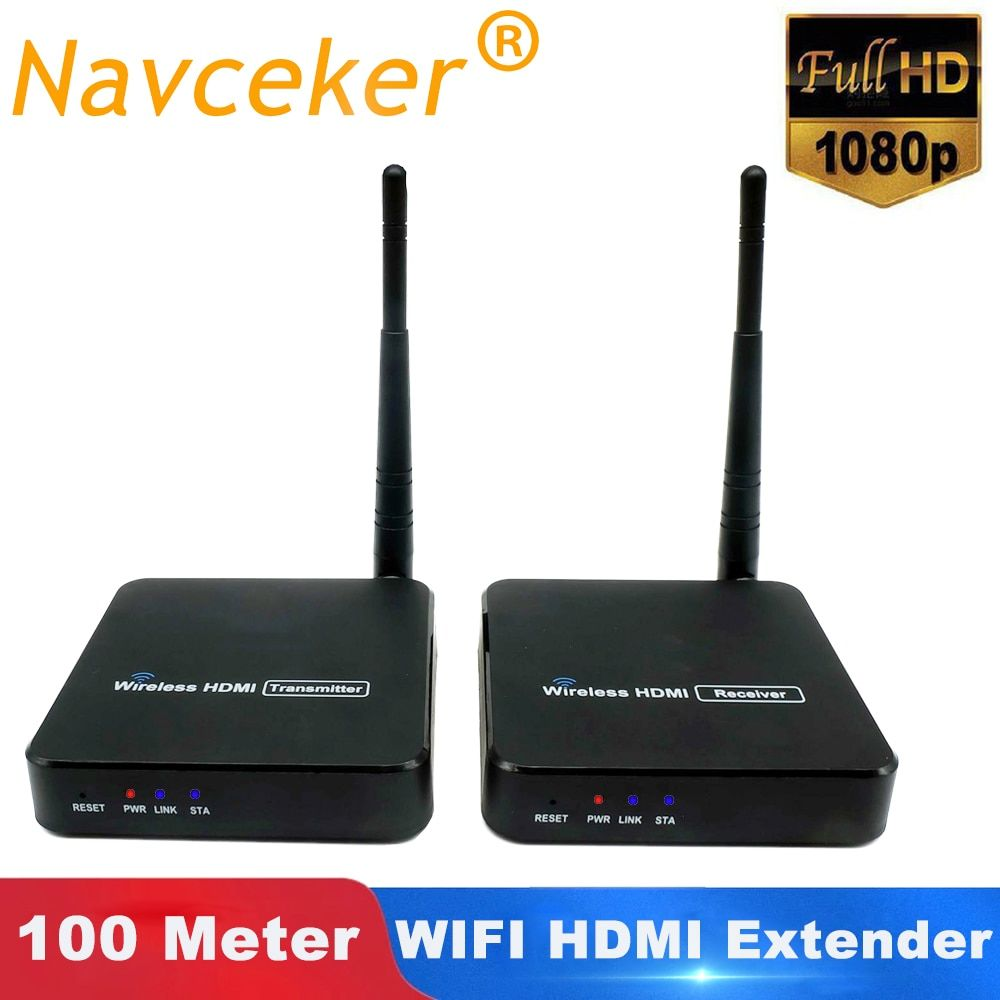 2019 ZY-DT216 Wireless HDMI Video TV Sender Empfänger WIFI 100m HDMI Extender Wireless HD 1080P Drahtlose Übertragung System