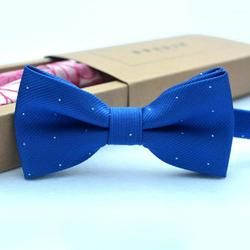 Children Bow Tie Baby Boy Kid Clothing Accessories Solid Color Gentleman Shirt Neck Tie Bowknot Dot