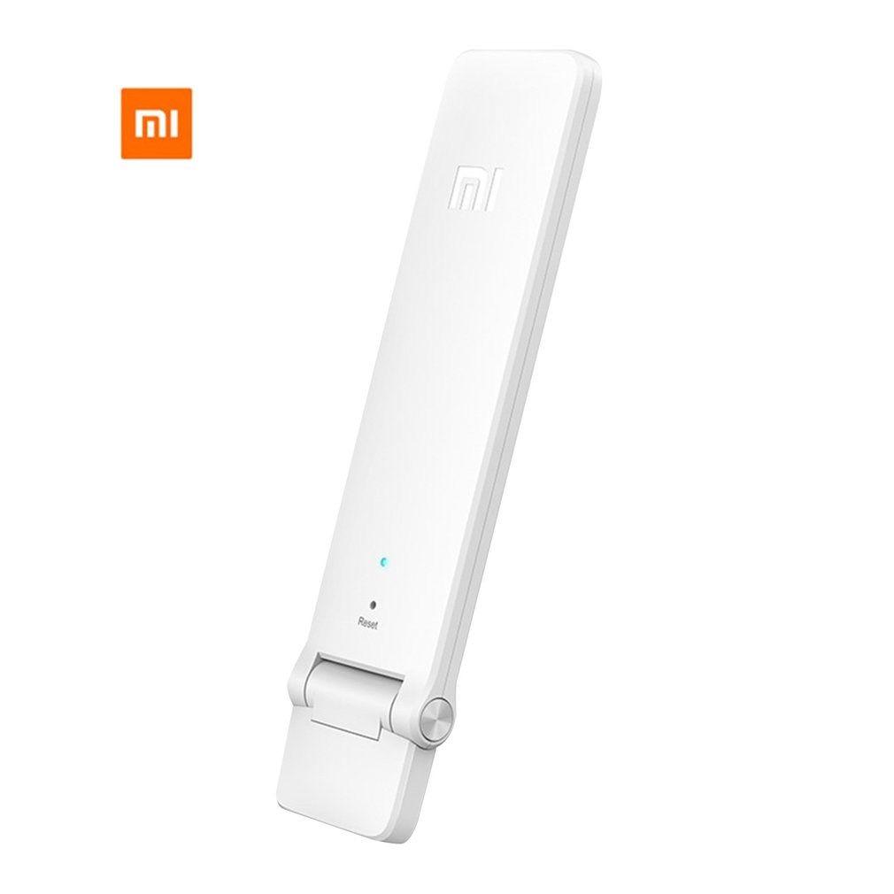 Xiaomi WiFi Amplifier2 répéteur Wi-Fi sans fil 2 génération antenne d'extension de Signal universelle 300Mbps reçoit des signaux améliorés