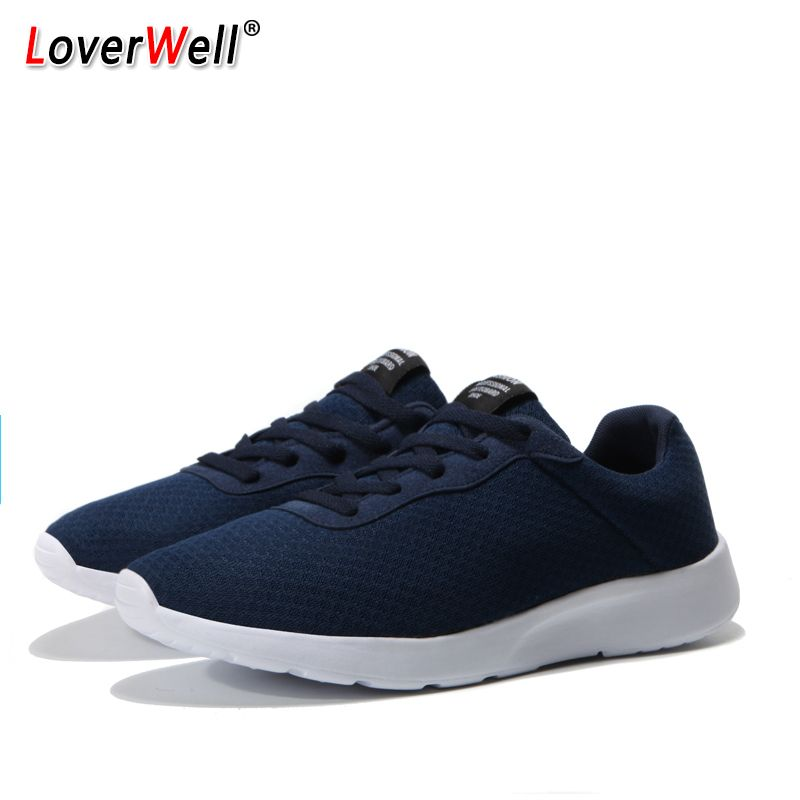 Unisex Sneakers For Men And Women Breathable Light Running Shoes Flats Athletic Jogging Walking Trainers Footwear Size 35-47