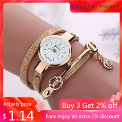 Relojes mujer 2020 Women Metal Strap Wristwatch Bracelet Quartz watch Woman Ladies Watches Clock Female Fashion Women Watches