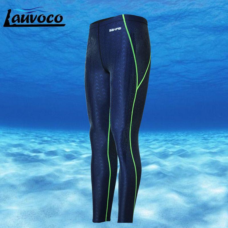Slips de bain professionnels pour hommes caleçons de natation Shorts de grande taille 3XL pantalons longs à séchage rapide en peau de SharkSkin hommes maillots de bain combinaison maillot de bain